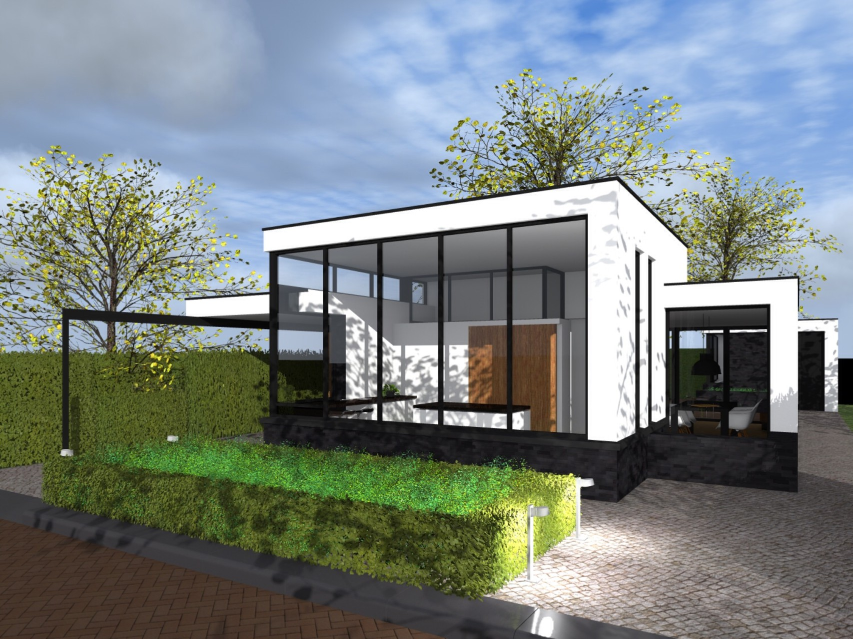 Moderne bungalow 2 rene scholten architectuur for Moderne bungalow architectuur