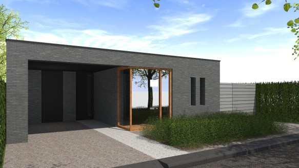 Moderne bungalow